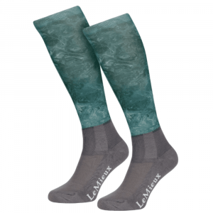LeMieux Adult Glace Socks – Sage