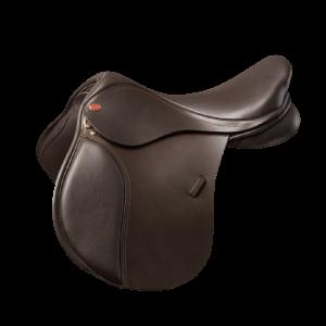 Kent and Masters Pony Club GP Saddle – Brown 16.5″