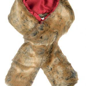 Dubarry Faux Fur Scarf- Chinchilla