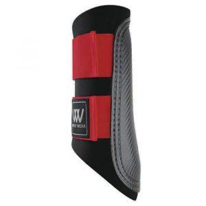 Woof Wear Club Brushing Boot – Black/Red