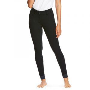 Ladies Ariat TRI Factor Grip Full Seat Breeches – Black