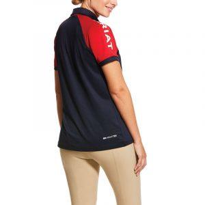 Ariat Ladies Team 3.0 Polo – Navy