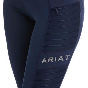 Ladies Ariat Moto Full Seat Tights – Navy