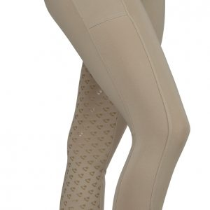 Childrens Aubrion Albany Riding Tights – Beige