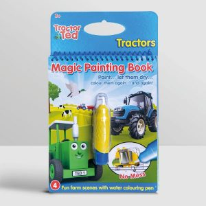 Tractor Ted Magic Painting Book – Tractors