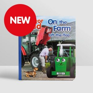 Tractor Ted Lift the Flap Book – On the Farm