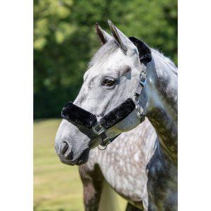 LeMieux Comfort Headcollar – Grey/Black