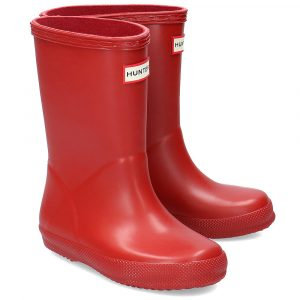 Hunter Kids First Classic Wellington Boot – Red