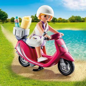 Playmobil – Beachgoer With Scooter