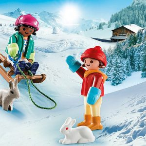 Playmobil – Children with Sleigh