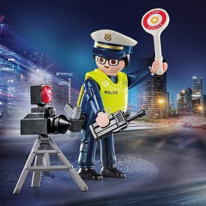 Playmobil – Police Officer with Speed Trap