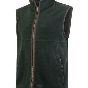 Hoggs Of Fife Men's Stenton Technical Fleece Gilet – Pine