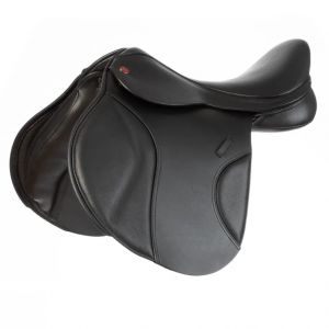 Kent and Masters S-Series Compact GP Saddle Standard Wither – Black 17.5″