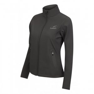 Team LeMieux Ladies Softshell Jacket – Grey