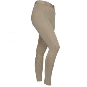 Ladies Shires Aubrion Albany Riding Tights – Beige