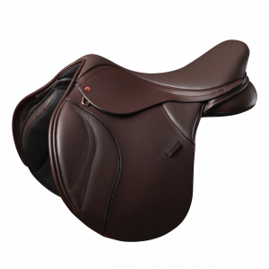 Thorowgood T8 Pony Jump Saddle – Brown
