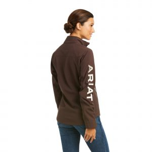 Ariat Ladies New Team Softshell Jacket – Coffee Bean
