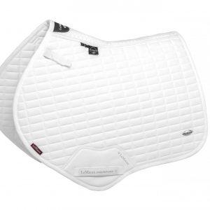 LeMieux Self Cool CC Square Saddle Pad – White