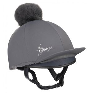 LeMieux Young Riders Hat Silk – Slate