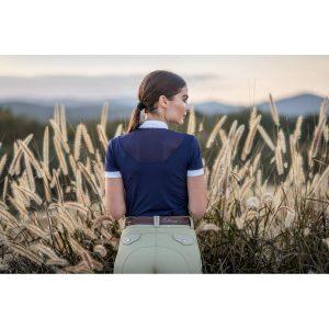 LeMieux Ladies Amelie Diamante Show Shirt – Navy