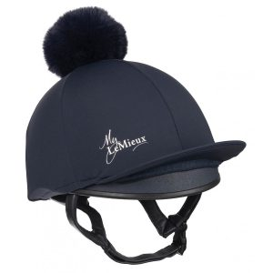 LeMieux Young Riders Hat Silk – Indigo