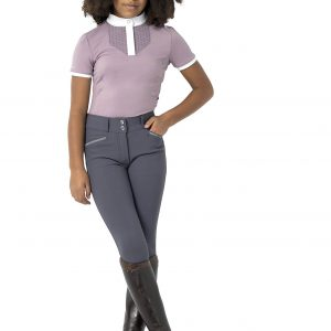 Childrens LeMieux Young Rider Belle Show Shirt – Musk