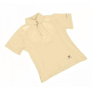 Childrens Shires Short Sleeve Tie Shirt – Yellow