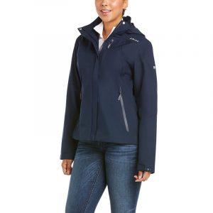 Ariat Ladies Coastal Waterproof Jacket – Navy