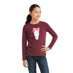 Ariat Kids Flower Crown T-Shirt – Windsor Wine