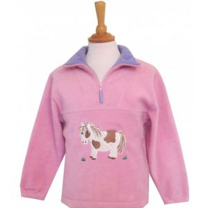 British Country Collection Fleece – Cookie Pony