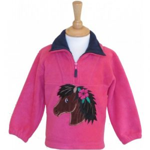 British Country Collection Fleece – Poppy