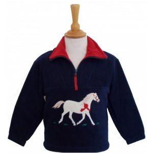 British Country Collection Fleece – Champion Pony – Navy
