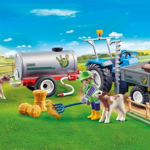 Playmobil – Loading Tractor with Water Tank