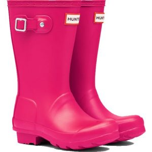 Hunter Kids Wellington Boot – Pink