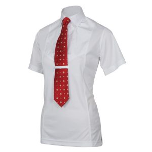 Childrens Shires Short Sleeve Tie Shirt