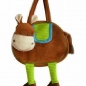 Plush Horse Shape Bag