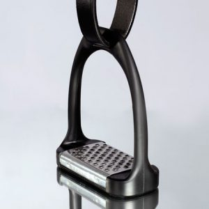 Horze Plastic Stirrups with Aluminum Inlay