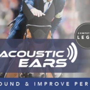 LeMieux Acoustic Fly Hood – Black