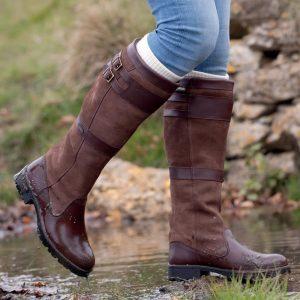 Dubarry Longford Leather Boot – Walnut