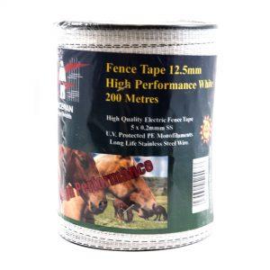 Fenceman Fence Tape 12.5mm x 200m