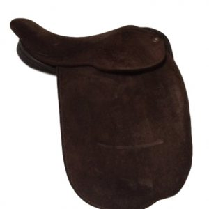 Fylde Suede 14.5 Inch Show Saddle