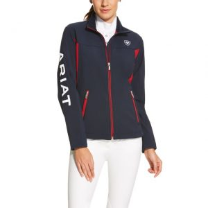Ariat Ladies Team Softshell – Navy