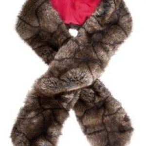 Dubarry Faux Fur Scarf- Elk