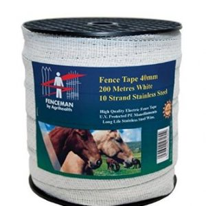 Fenceman Fence Tape 40mm x 200m