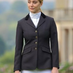 Ladies Shires Aston Show Jacket – Black