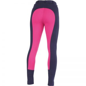 Ladies Shires Wessex Two Tone Jodhpurs – Navy/Pink