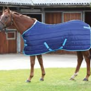 Shires Tempest 300 Stable Rug – Navy/Blue