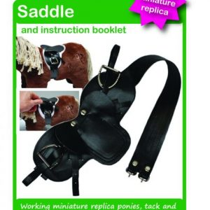 Crafty Ponies Saddle & Instruction Booklet
