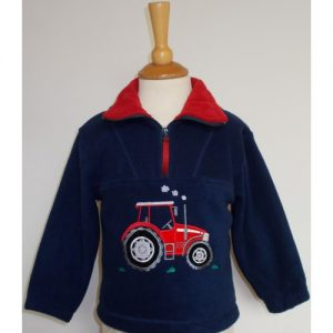 British Country Collection Fleece – Big Red Tractor