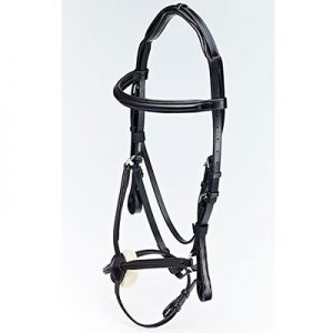 Caldene Black Label Grackle Bridle- Black